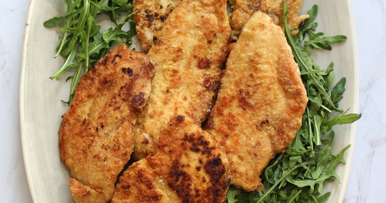 Crispy Grain-Free Chicken Cutlets