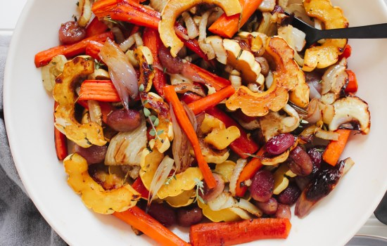 Fall Roasted Vegetable Salad