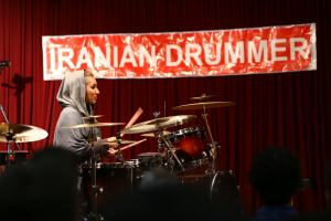 Sahar Shateri_Iranian drummer