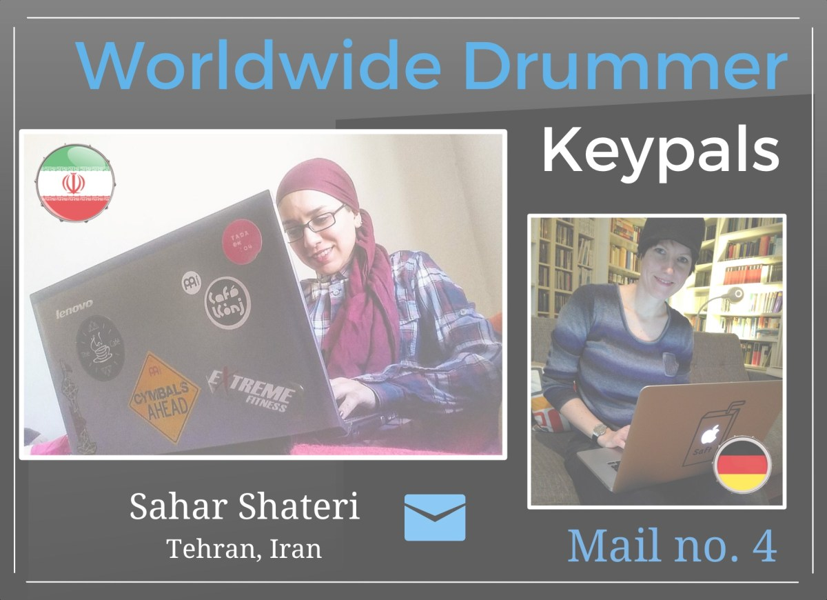News from Iranian female drummer