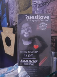 Questlove flyer © Cat with Hats