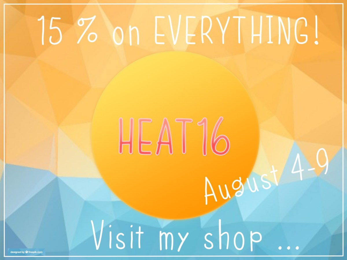 Summer Sale ... 15 % off everything