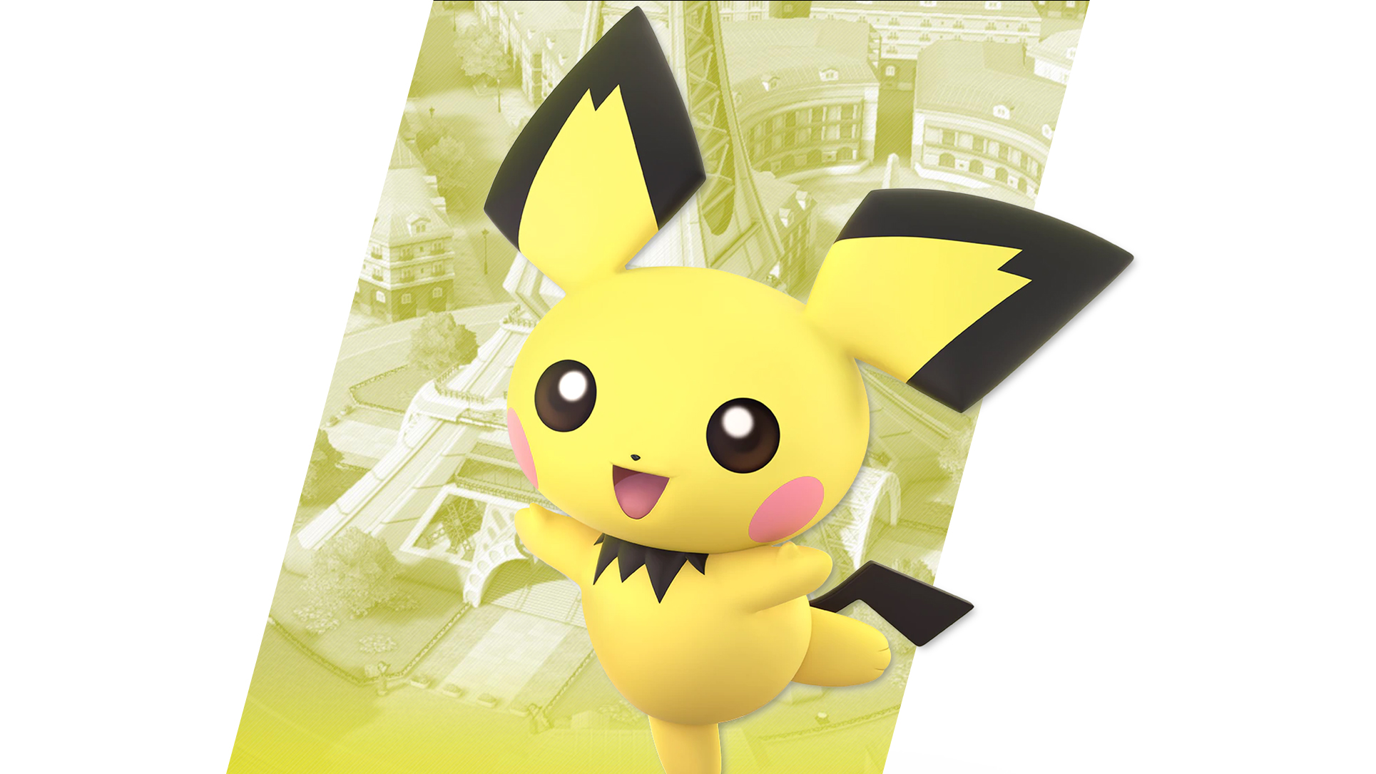 Super Smash Bros Ultimate Pichu Wallpapers Cat With Monocle