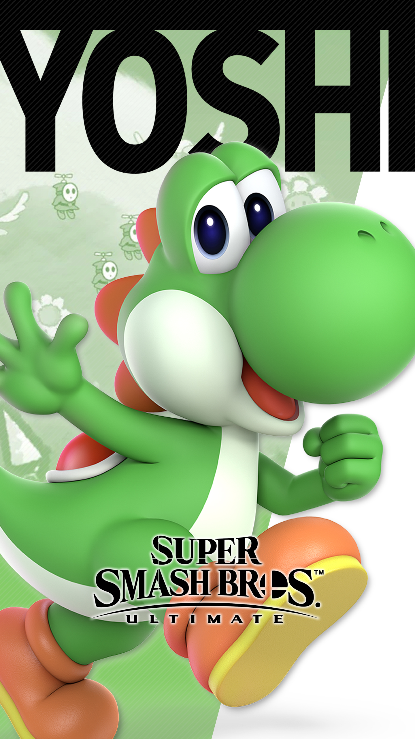 Cat Wallpaper Iphone X Super Smash Bros Ultimate Yoshi Wallpapers Cat With Monocle