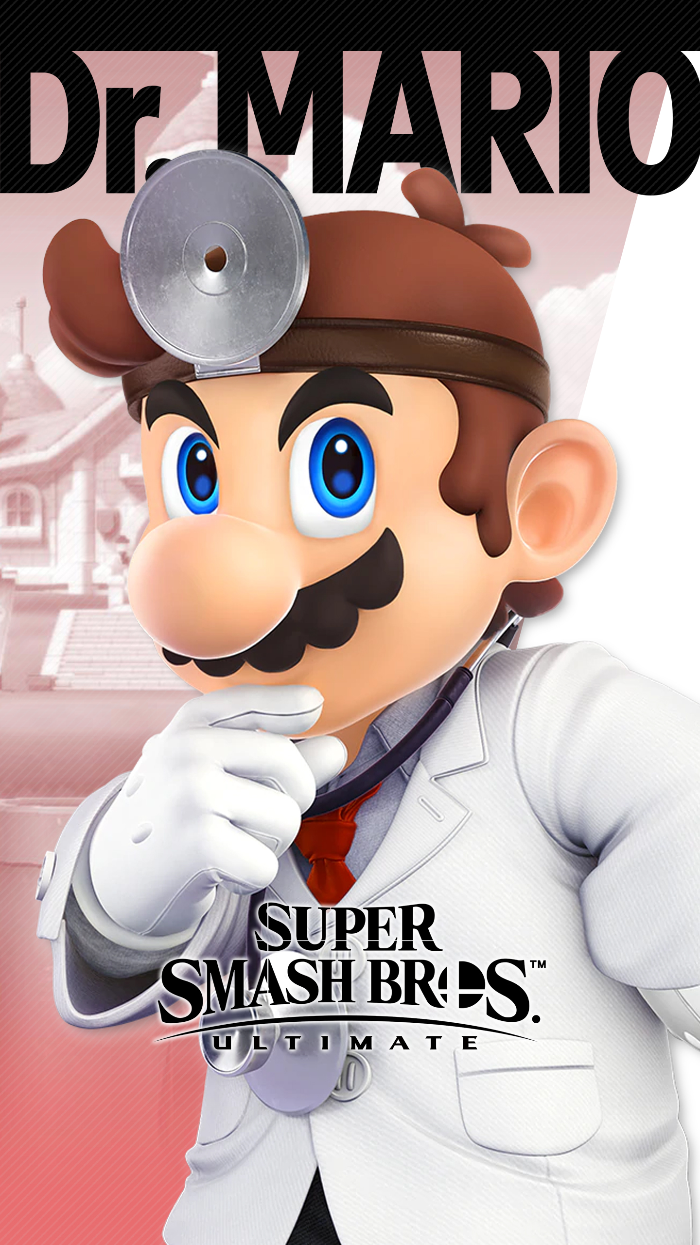 Iphone 6s Plus Wallpaper Size Super Smash Bros Ultimate Dr Mario Wallpapers Cat With