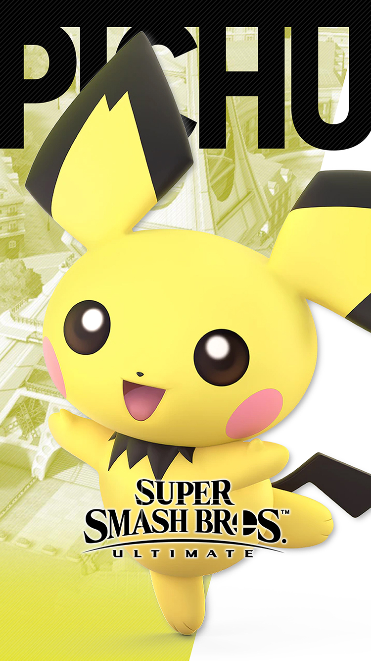 Best Animated Wallpapers Super Smash Bros Ultimate Pichu Wallpapers Cat With Monocle