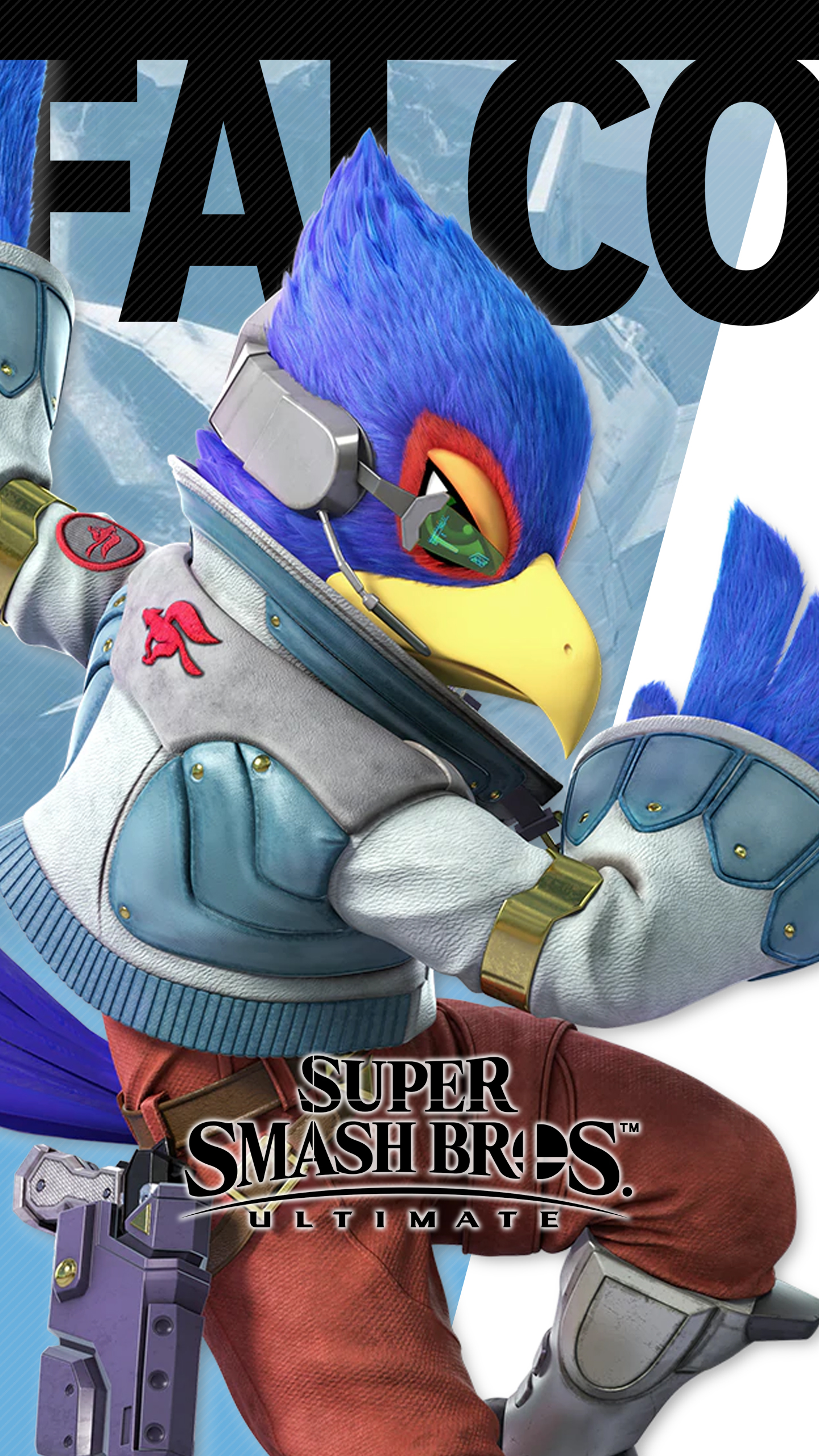 Iphone 6s Plus Wallpaper Size Super Smash Bros Ultimate Falco Wallpapers Cat With Monocle