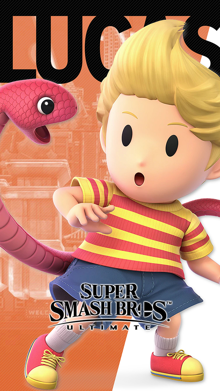 Super Smash Bros Ultimate Lucas Wallpapers Cat With Monocle