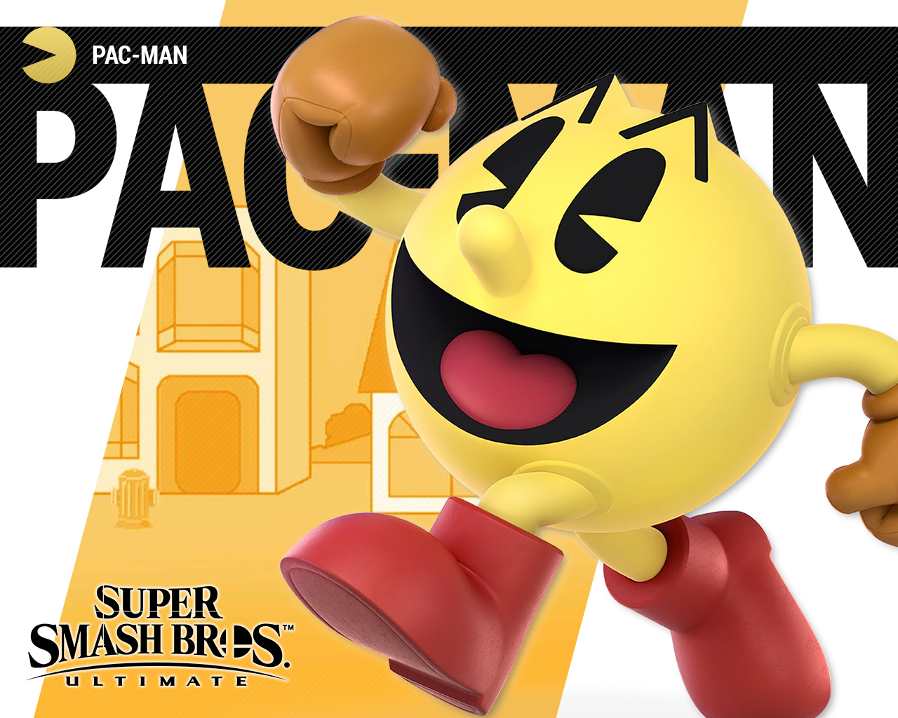 Super Smash Bros Ultimate Pac Man Wallpapers Cat With Monocle