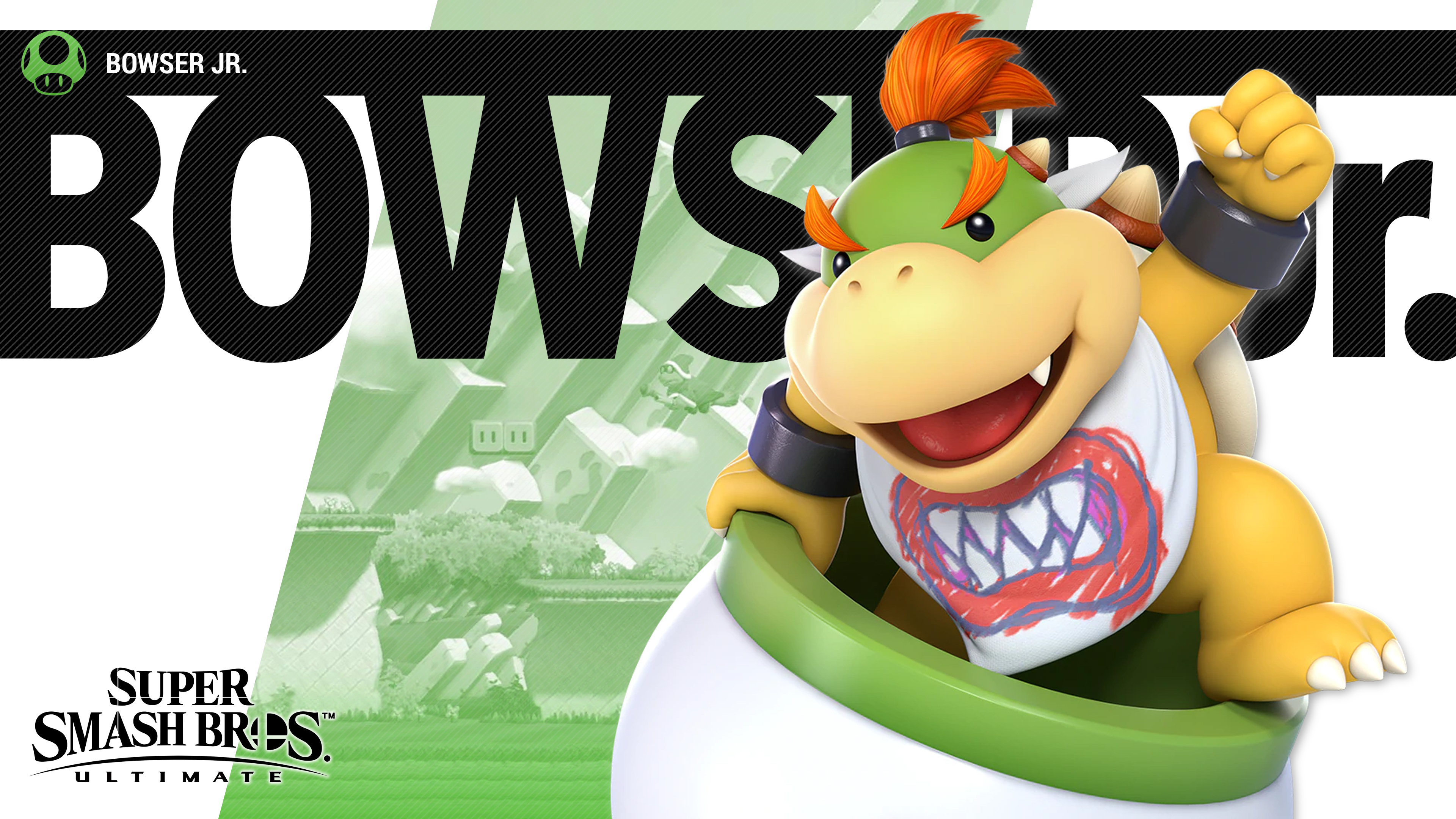 Running Wallpaper Iphone Super Smash Bros Ultimate Bowser Jr Wallpapers Cat With