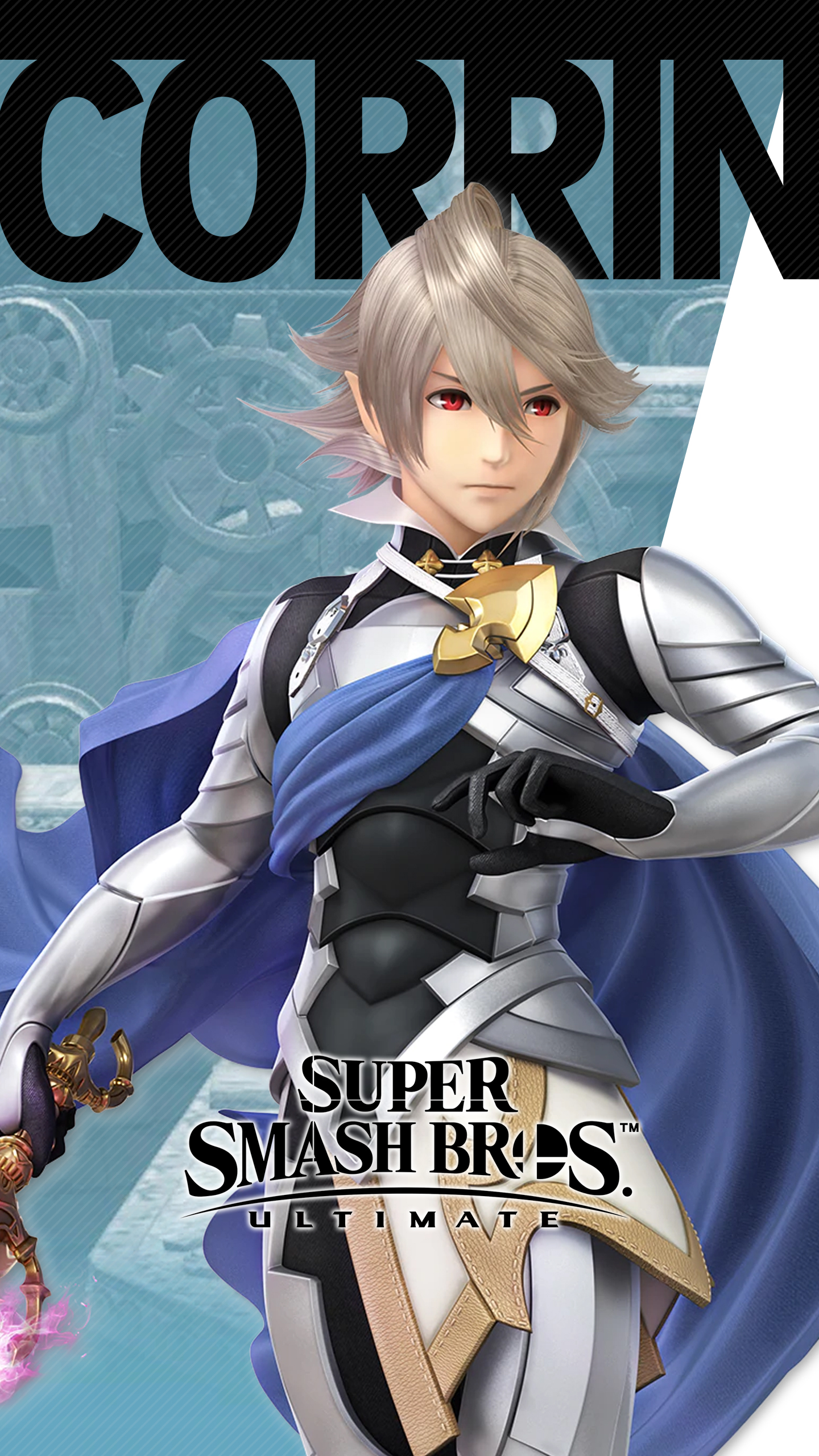 Iphone Wallpaper Size Super Smash Bros Ultimate Corrin Wallpapers Cat With Monocle