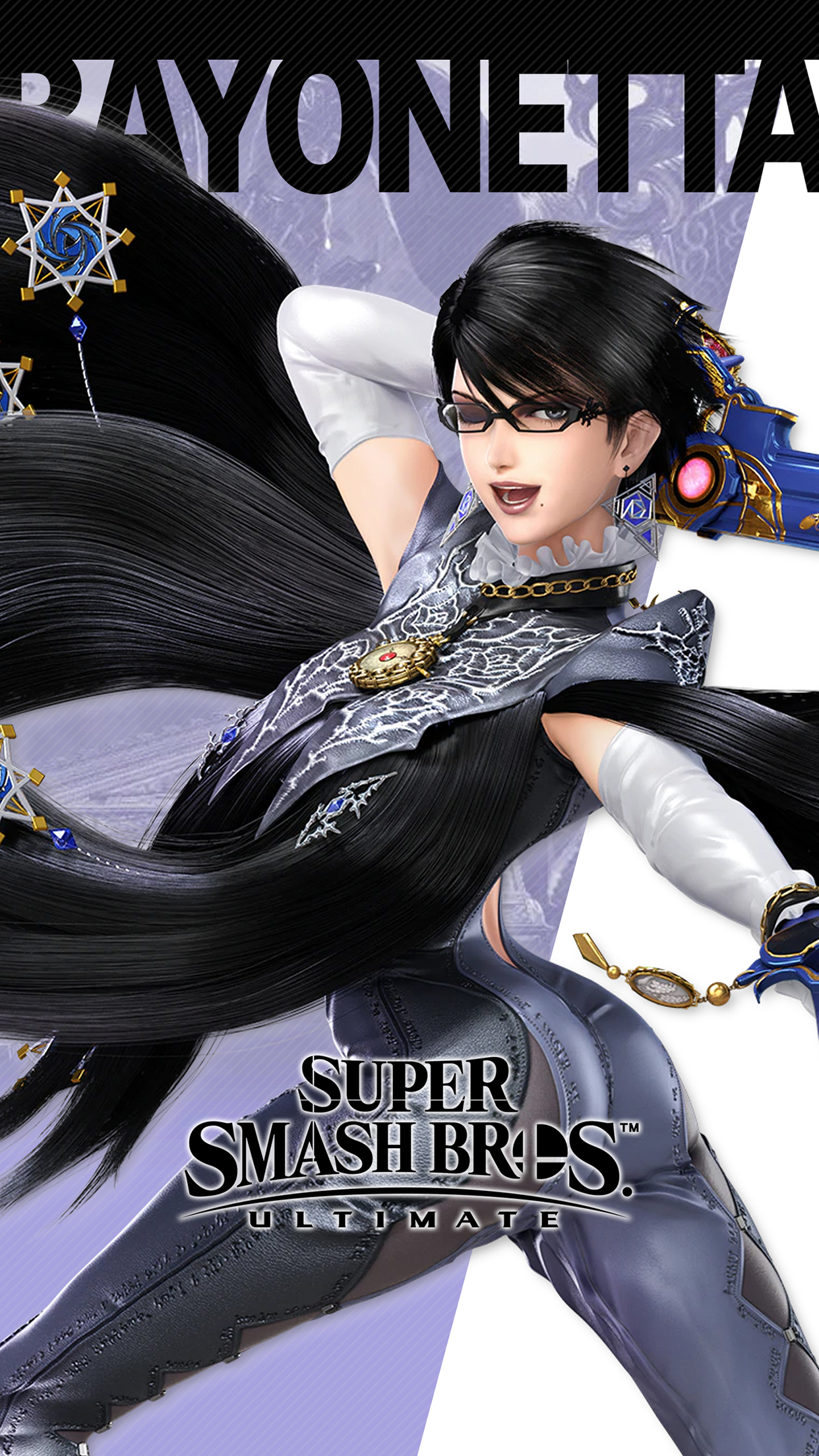 Iphone X Wallpaper For Note 8 Super Smash Bros Ultimate Bayonetta Wallpapers Cat With