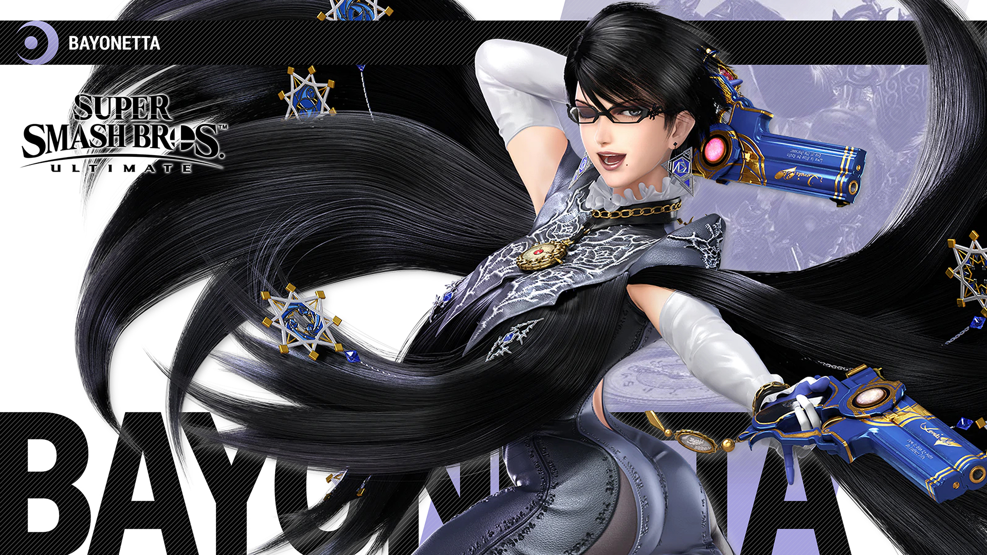 Super Smash Bros Ultimate Bayonetta Wallpapers Cat With Monocle