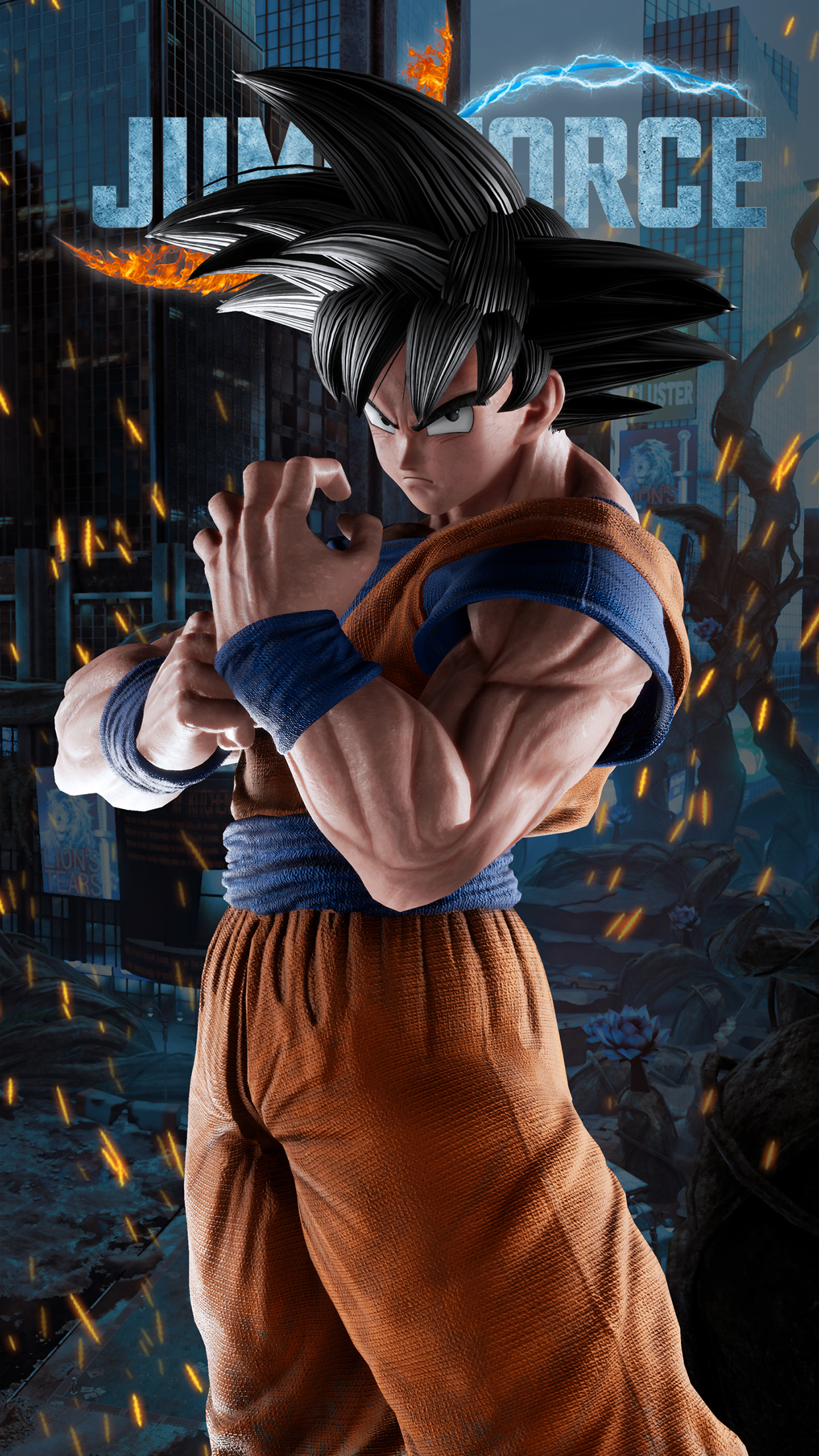 Animated Galaxy Wallpaper Jump Force Goku Wallpapers Cat With Monocle