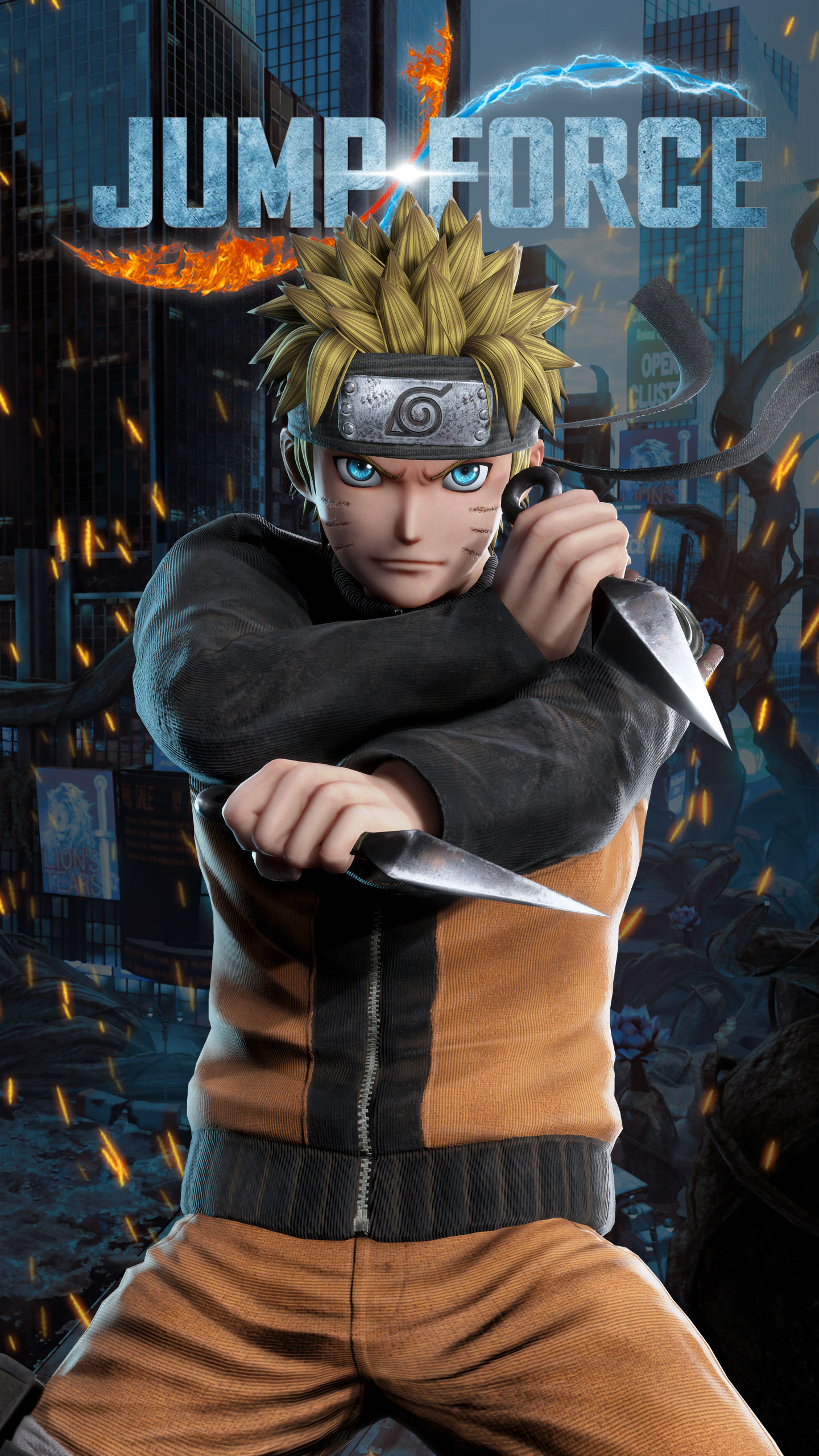 Iphone Se Wallpaper Size Jump Force Naruto Wallpapers Cat With Monocle