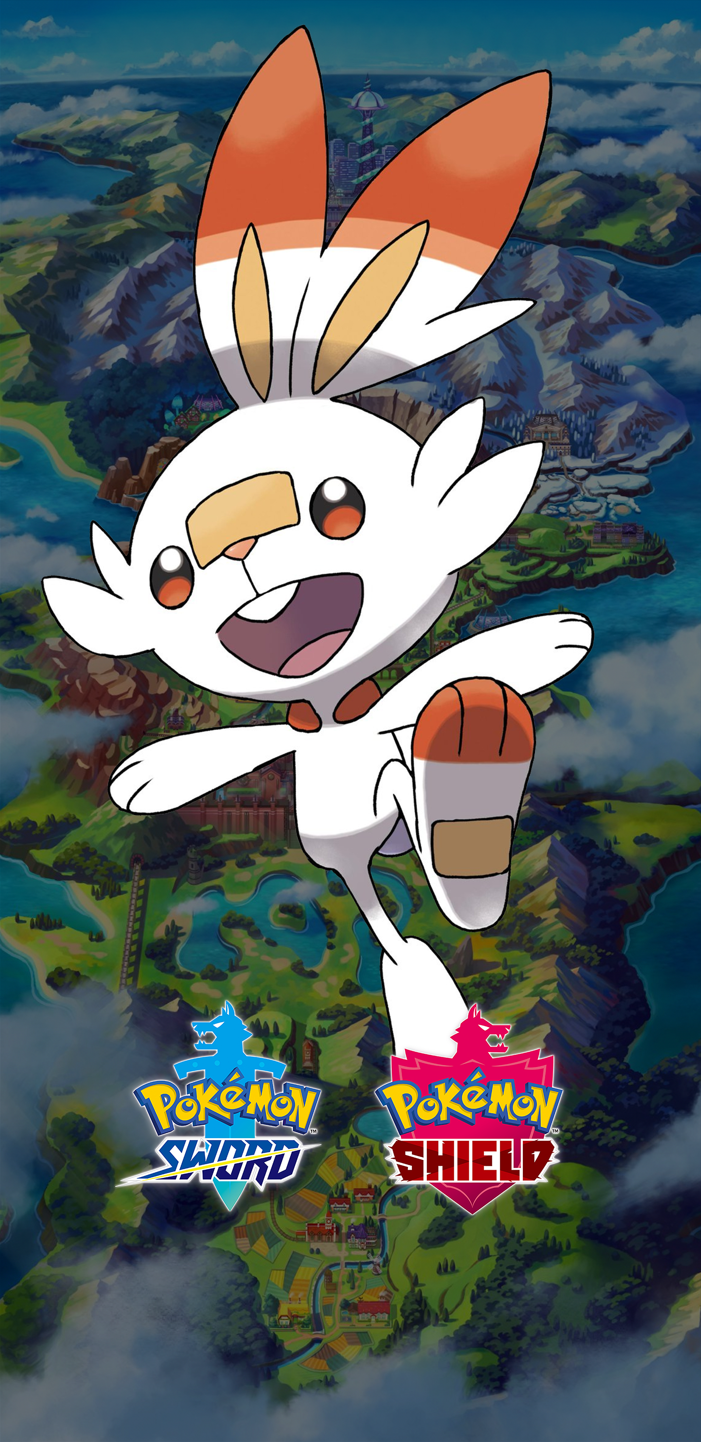 Cute Pokemon Iphone 6 Wallpaper Pokemon Sword And Shield Scorbunny Wallpapers Cat With