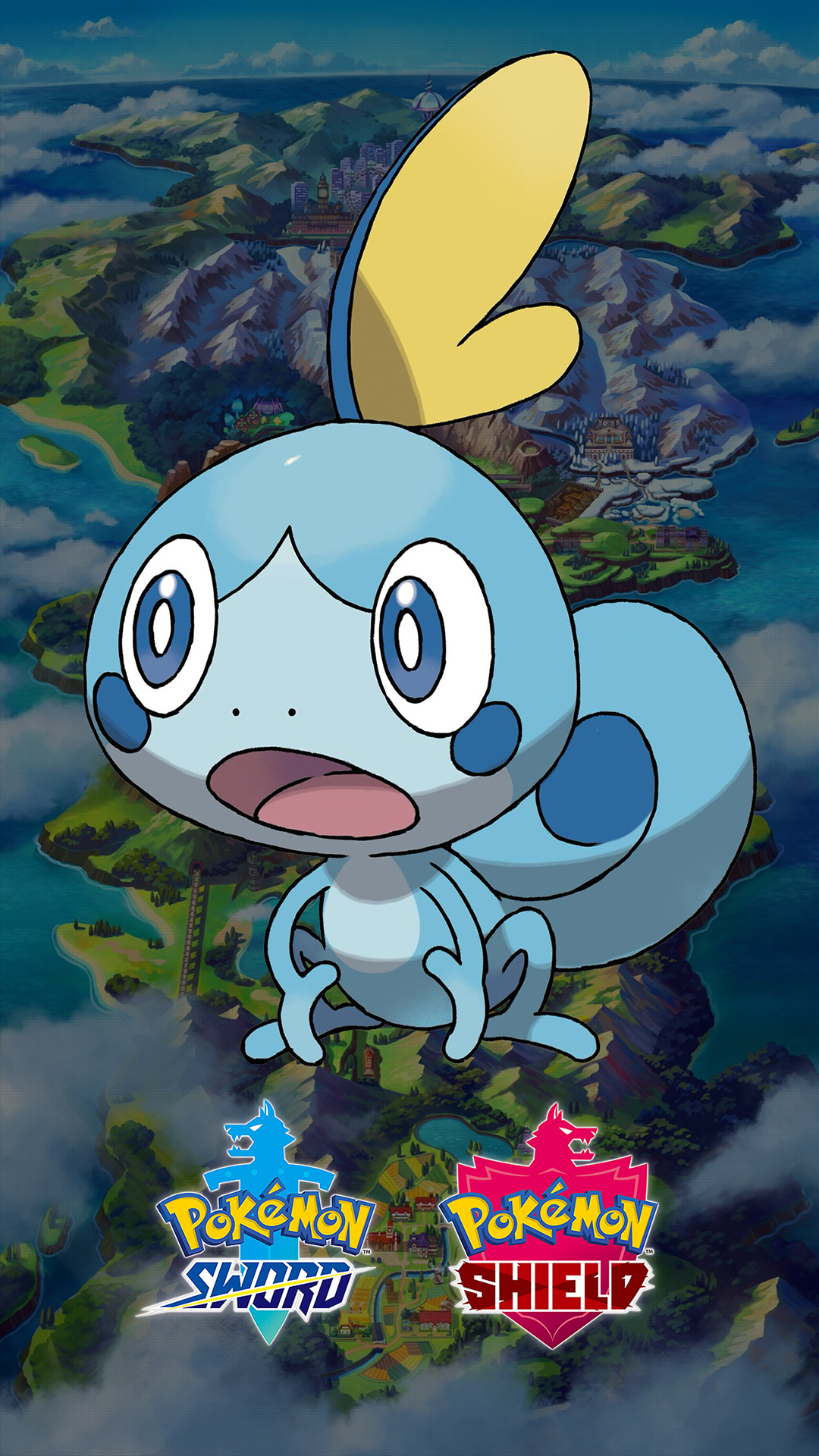Iphone 6s Plus Wallpaper Size Pokemon Sword And Shield Sobble Wallpapers Cat With Monocle