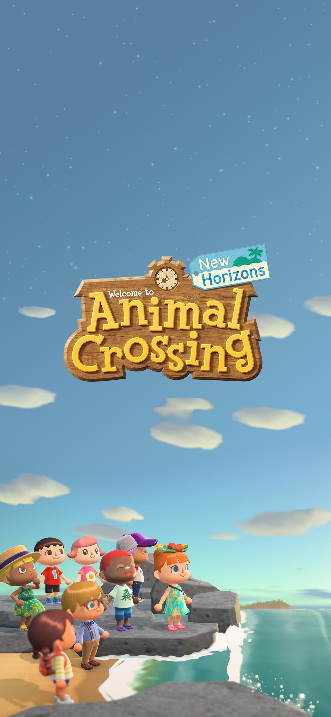 Running Wallpaper Iphone Animal Crossing New Horizons Shoreline Wallpaper Cat