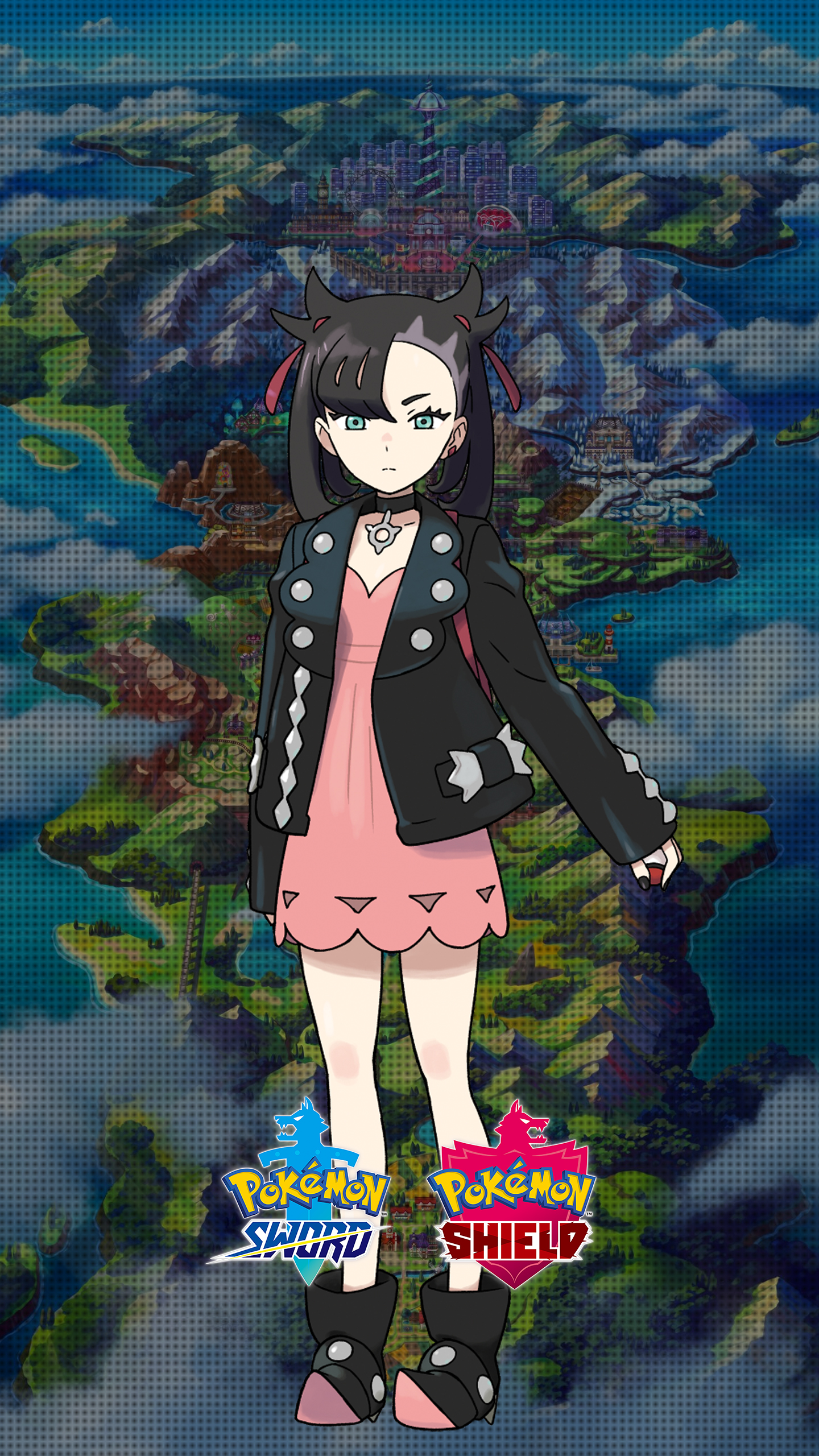 Custom Iphone X Wallpaper Pokemon Sword And Shield Marnie Wallpapers Cat With Monocle