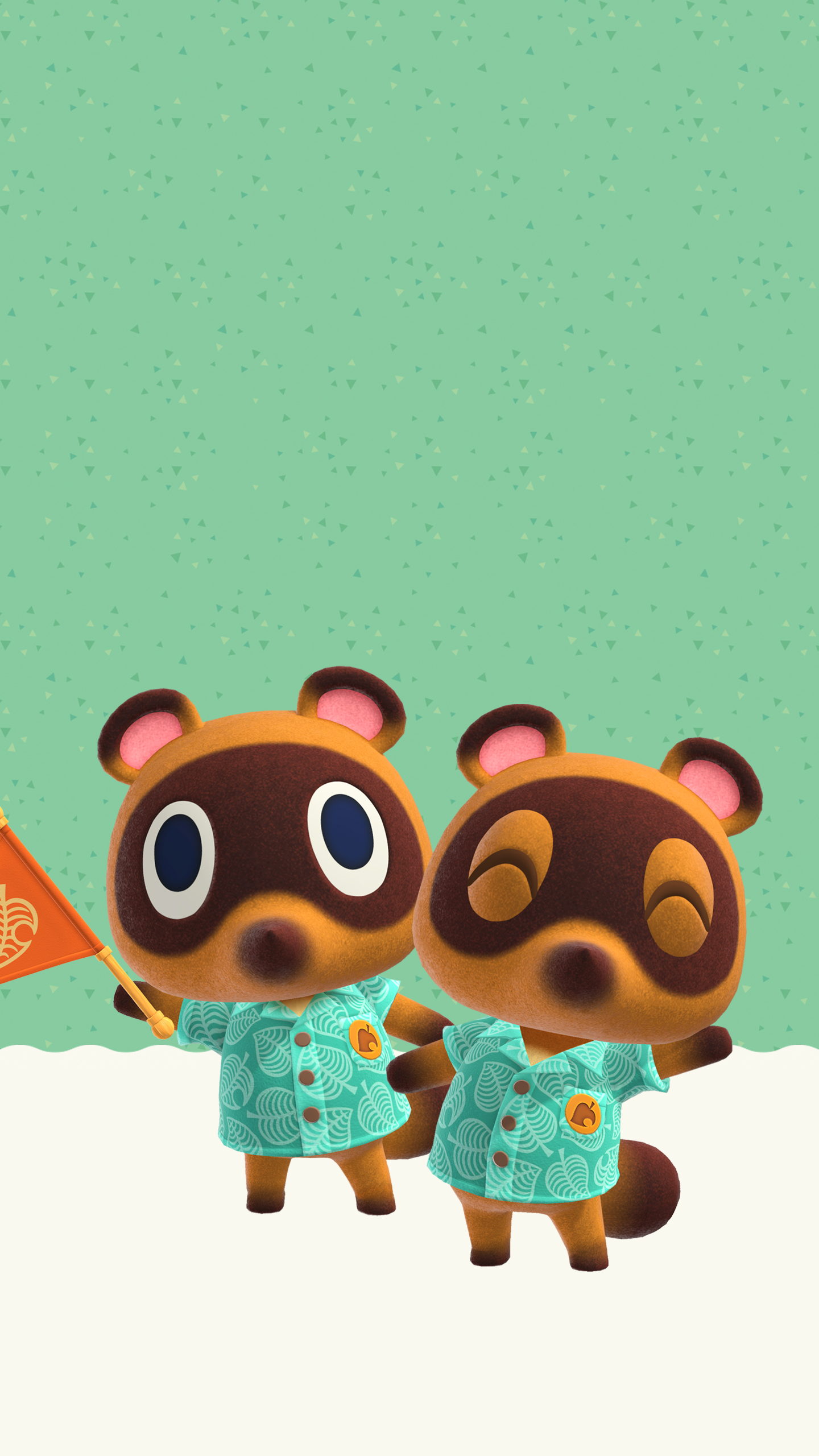 Running Wallpaper Iphone Animal Crossing New Horizons Timmy And Tommy Wallpaper