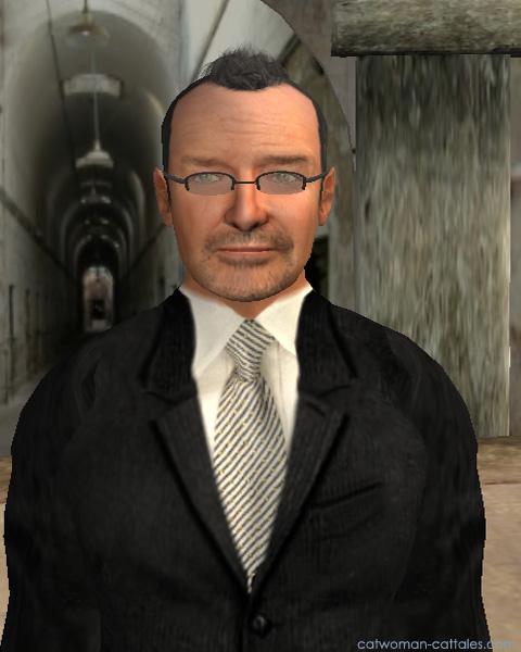Dr. Leland Bartholomew at Arkham Asylum