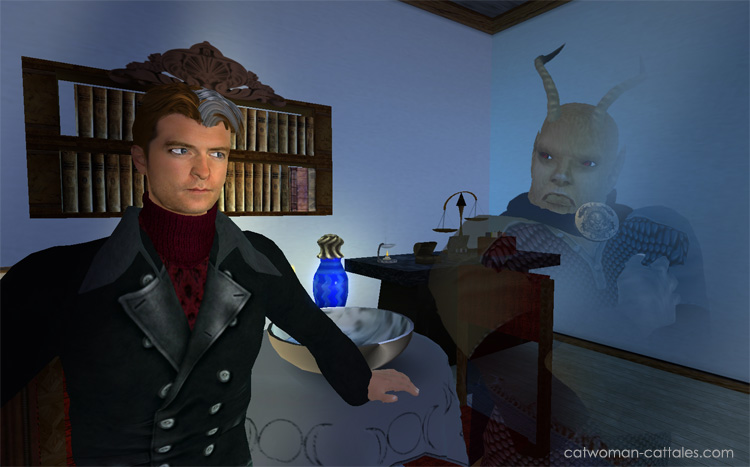 Character Portrait: Jason Blood and Etrigan