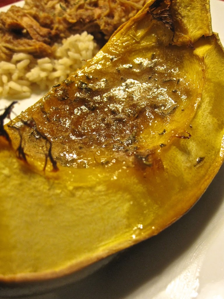 Sweet-Roasted Rosemary Acorn Squash Wedges - Catz in the ...