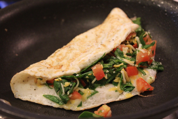 low calorie omelet