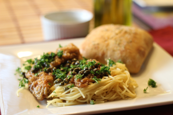 Food Network Lightened Up Chicken Piccata Gallery Coloring Pages Adult