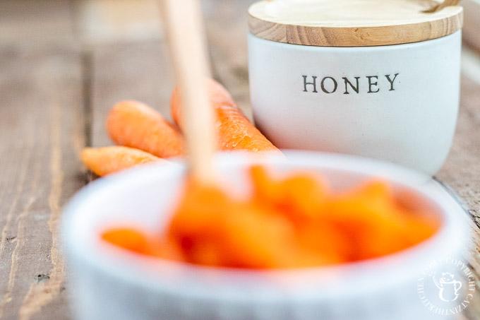 Carrots with Honey Glaze