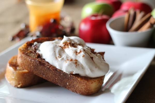 cinnamon apple spice french toast recipe