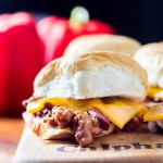 Sloppy Joe Sliders | Catz in the Kitchen | catzinthekitchen.com | #recipe #sliders #sloppyjoe