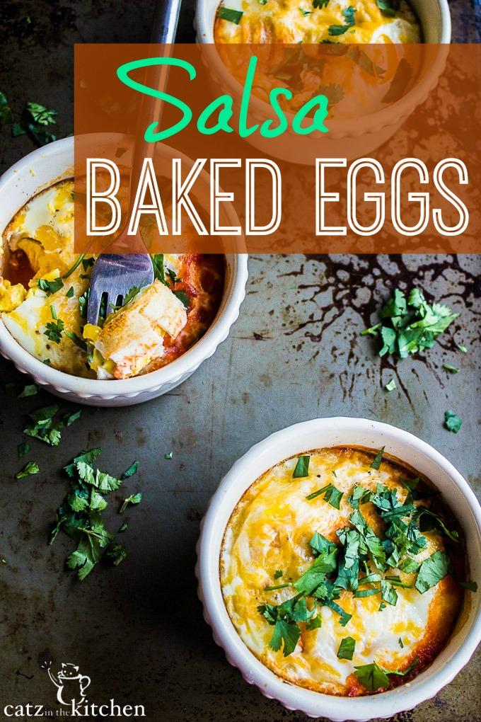 Salsa Baked Eggs