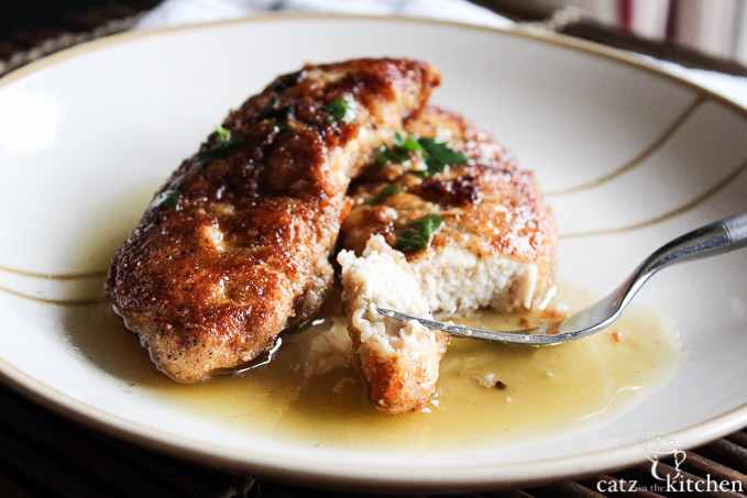 Julia Child's Parmesan Chicken