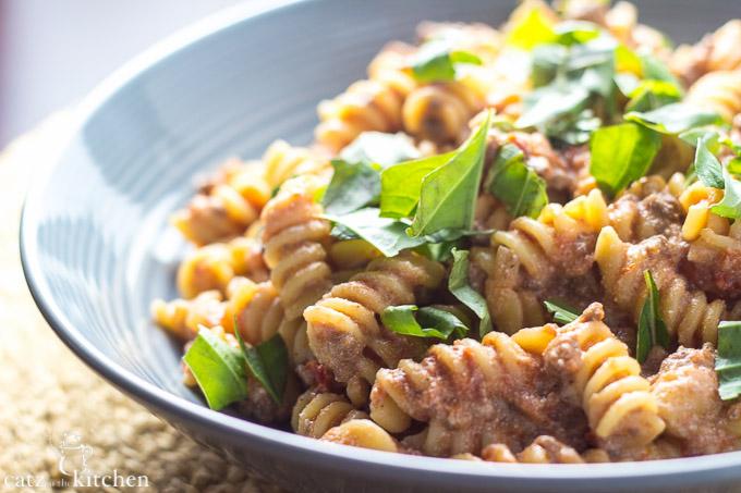 Pastasagna | Catz in the Kitchen | catzinthekitchen.com #pasta