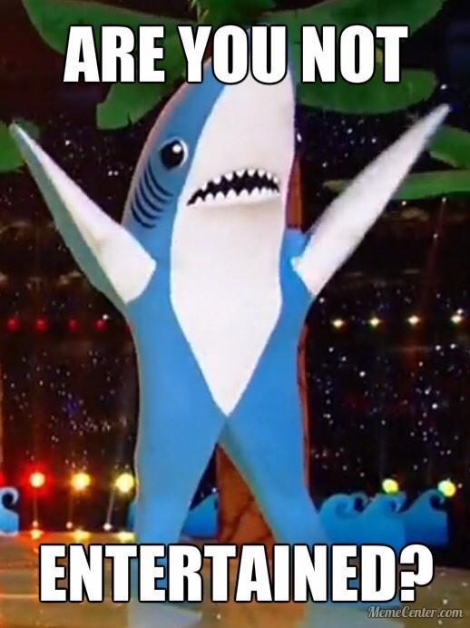 Left Shark Gladiator