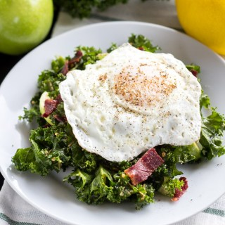 Kale Breakfast Salad