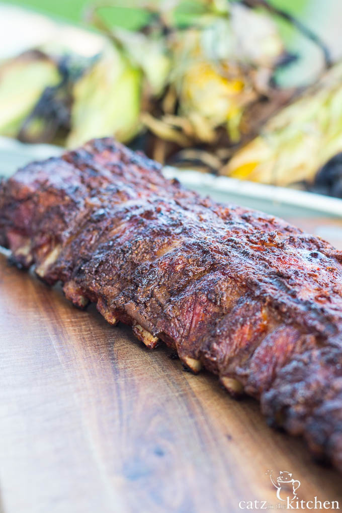 Barbecue Baby Back Ribs | Catz in the Kitchen | catzinthekitchen.com #BBQ #4thofJuly #Ribs