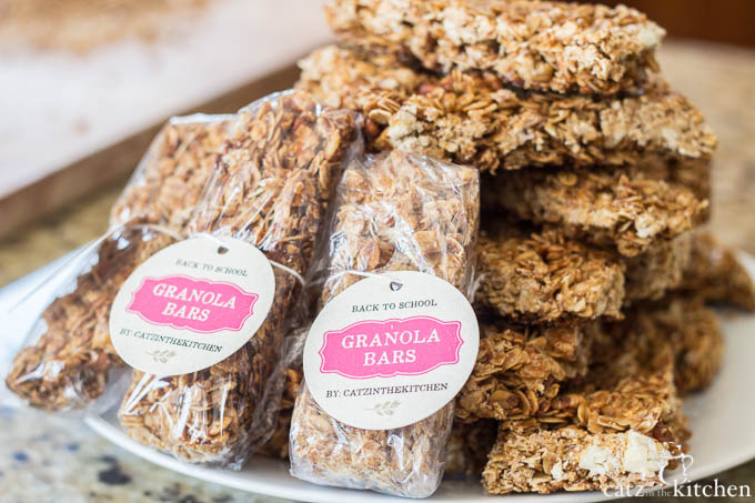 Back to School Granola Bars | evermine occasions | www.evermine.com