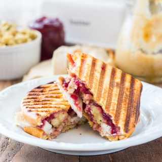 Have some Thanksgiving leftovers in the fridge? Turn them into a delicious lunch or dinner in 15 minutes with this Thanksgiving Leftover Panini recipe!