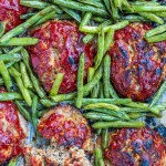 These homestyle mini meatloaves finally won my husband over to meatloaf! What's the secret? Besides scrumptious flavors, broiling right at the end adds a yummy crusty texture to the outside!