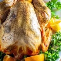 Citrus & Garlic Turkey