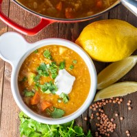 One Pot Country Lentil Soup