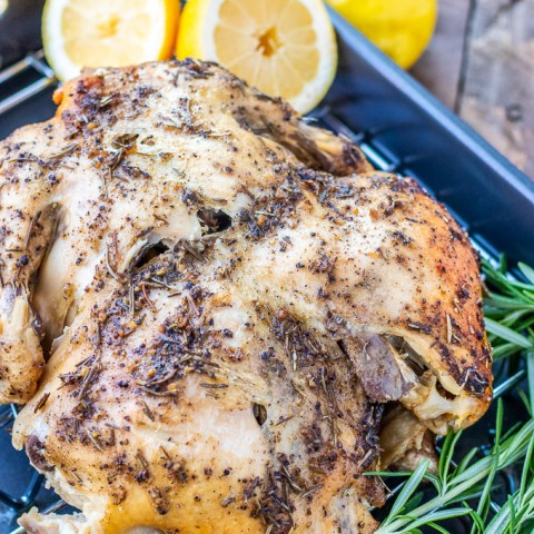 Slow Cooker Lemon Pepper Chicken