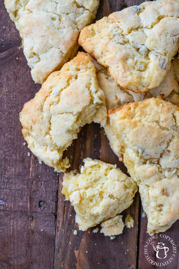 This easy recipe for Green Chile & Cheddar Cheese Scones is a perfect accompaniment to soups, chilis, and so many other warm, southwestern dishes!