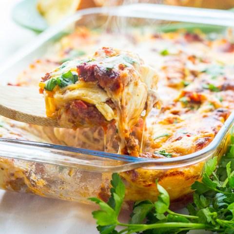 Traditional Lasagna: Two Ways (Freezer Friendly)