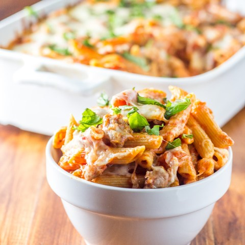 Baked Italian Sausage Penne