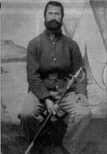 Colonel Benjamin Caudill CSA while a prisoner