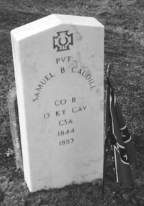 Samuel B. Caudill Co B, 13th KY CAV CSA