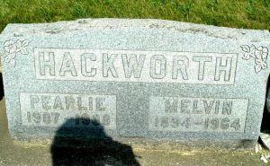Melvin and Pearlie Williams Hackworth Gravesite, Homer, Michigan